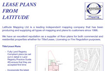 Lease plan leaflet